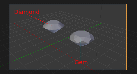 blender extra-objects addon gem diamond