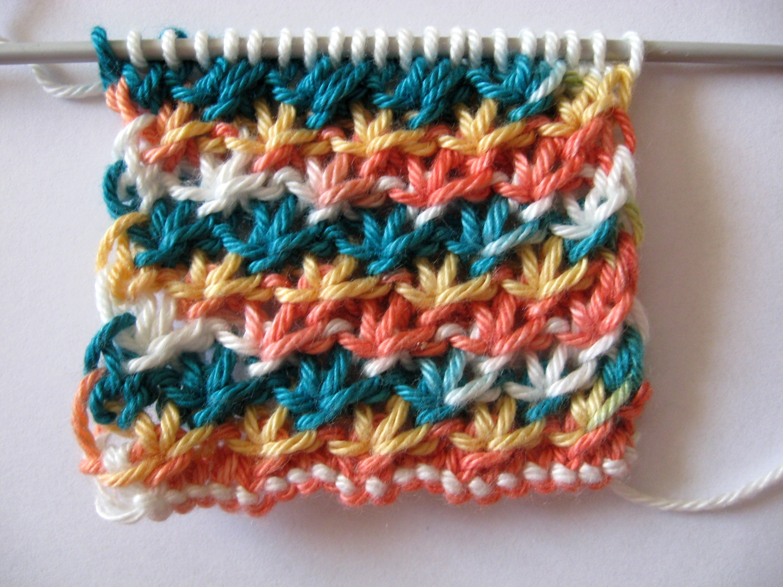 Crochet Knit Stitch Instructions : CROCHET ENCYCLOPEDIA KNITTING PATTERN STITCH Crochet Patterns