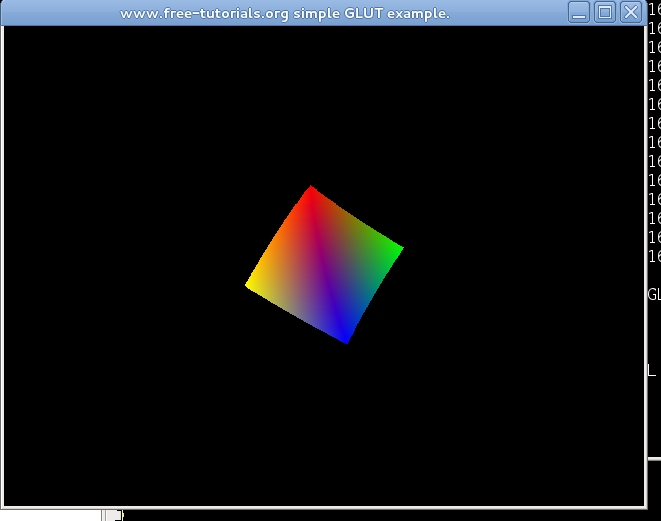 opengl example tutorial