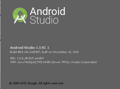 android_studio_1.51RC1